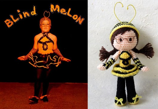 2. Blind Melon Cover-Bee-Girl-Amigurumi_Tales-of-Twisted-Fibers